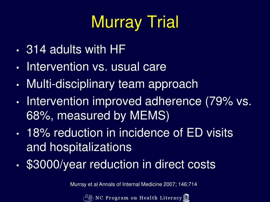 Murray Trial