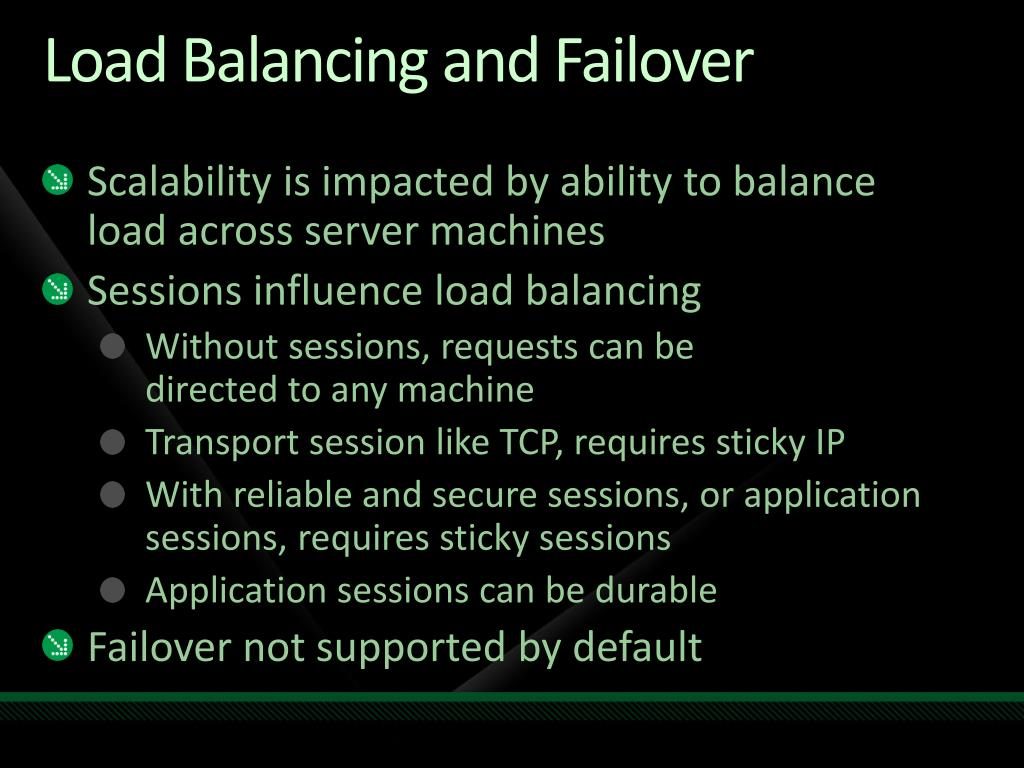 PPT - Load Balancing and Scaling your WCF Services Today and