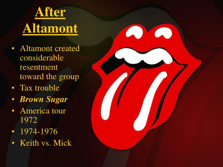 After Altamont