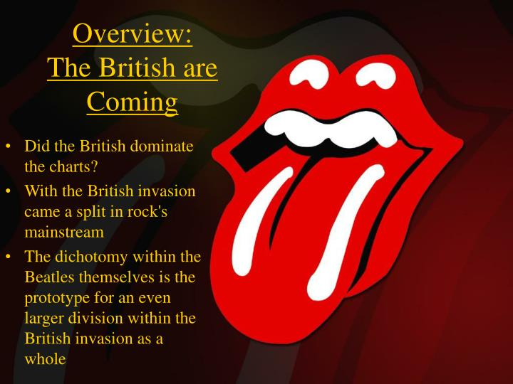 Overview the british are coming1