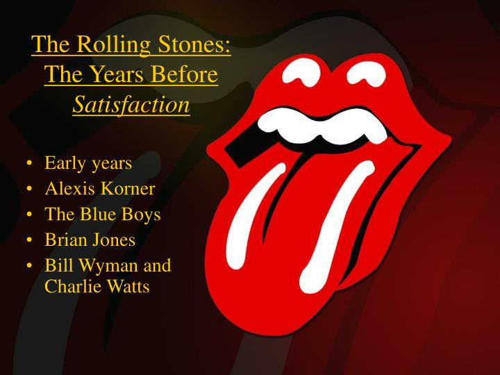 The Rolling Stones: