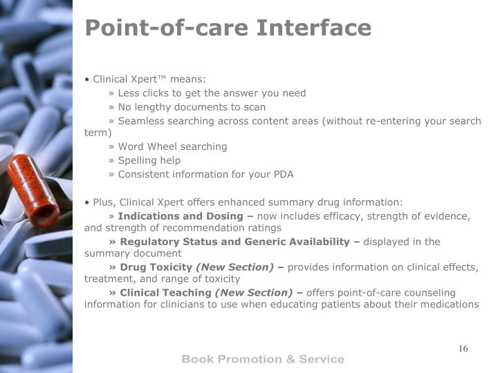 Point-of-care Interface
