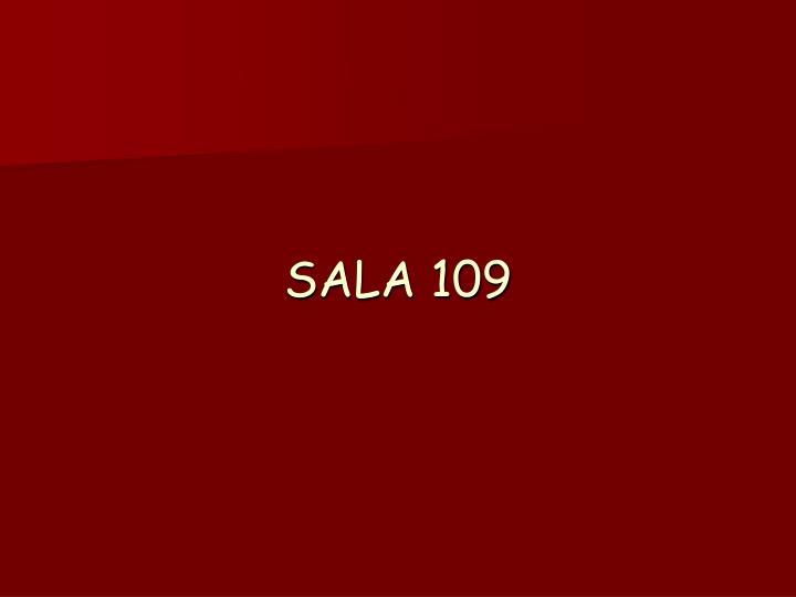 Sala 109