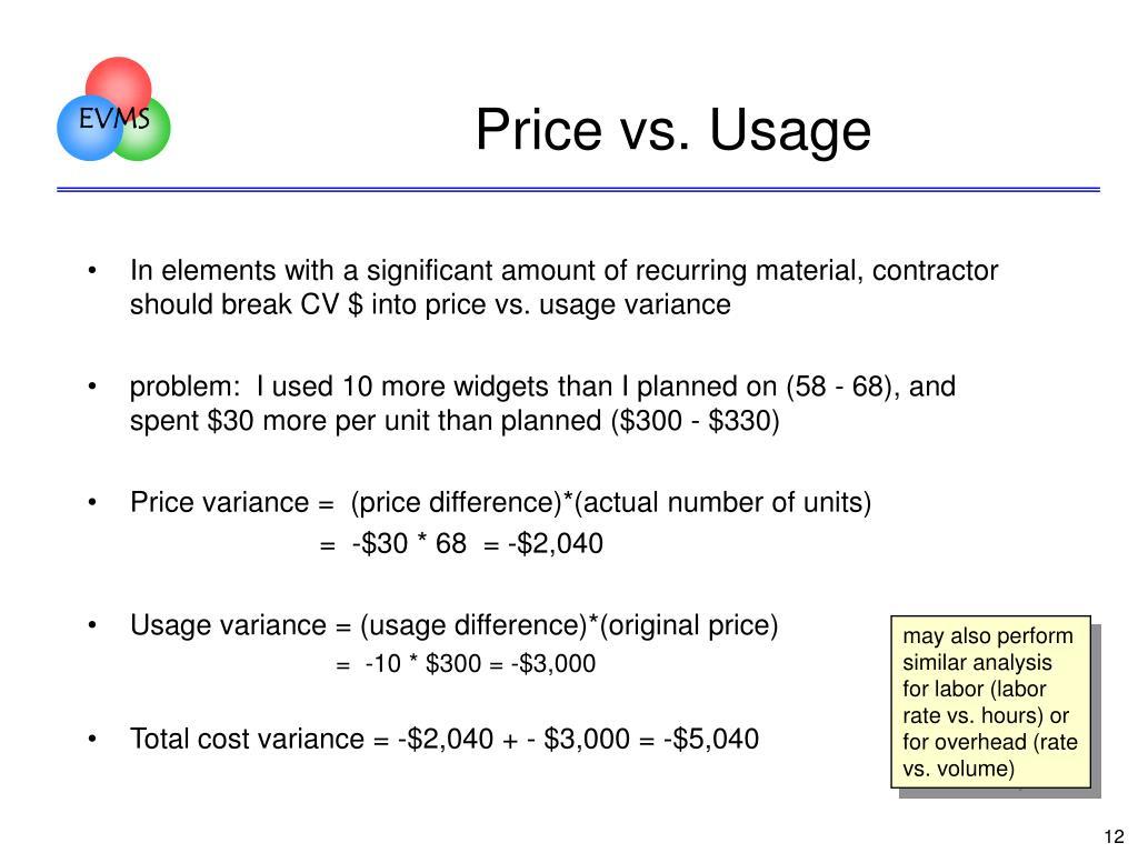 PPT - Analysis of Earned Value Data In Depth Training for EV