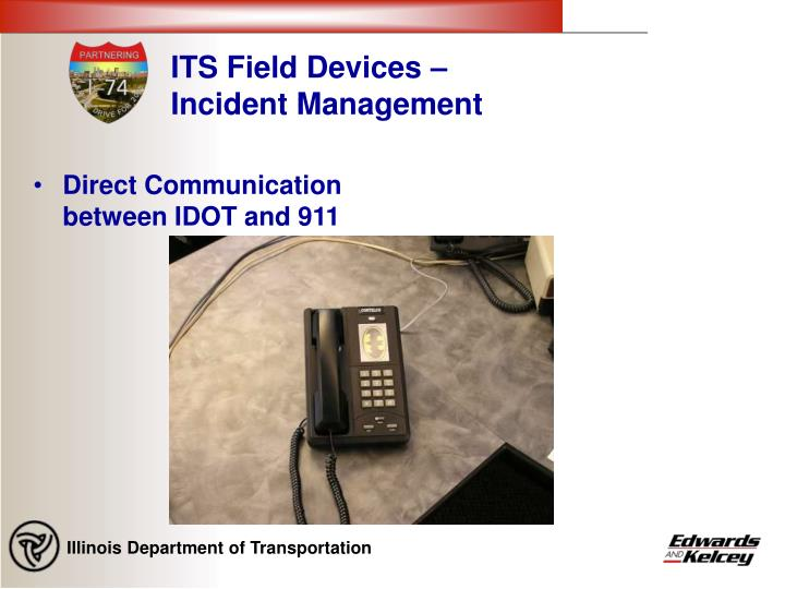 ITS Field Devices – Incident Management