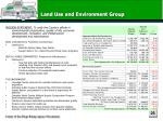 land use and environment group