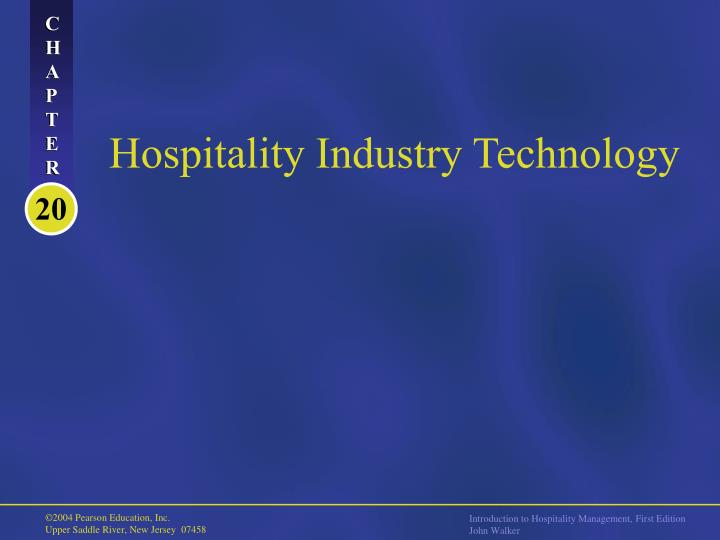 hospitality industry technology n.