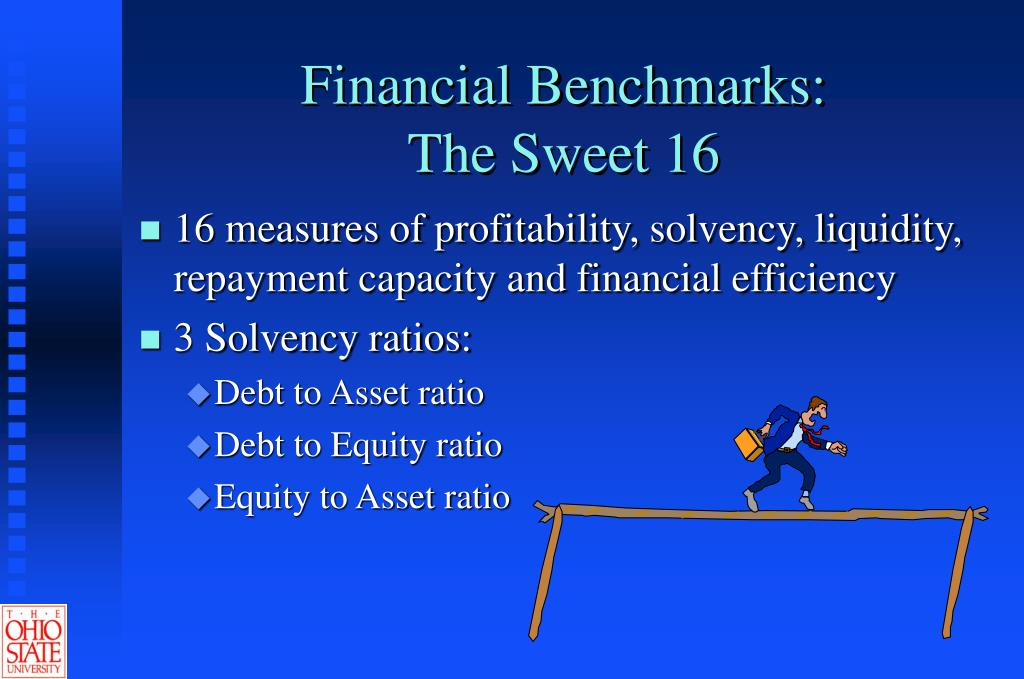Financial Benchmarks: