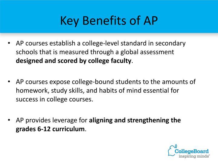 Key Benefits of AP