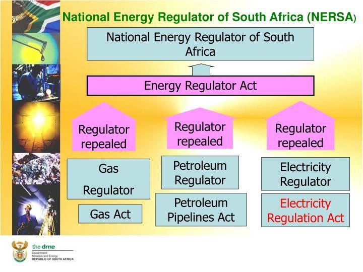 National Energy Regulator of South Africa (NERSA