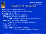 children of generics26