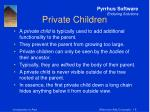 private children