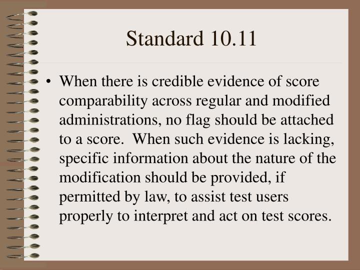 Standard 10 11