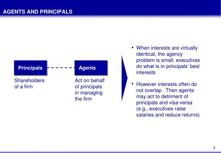 news agencies principal agent problem The significant discussion in business economics is principal-agent the principal agent problems in organizations economics essay principal agent problem.