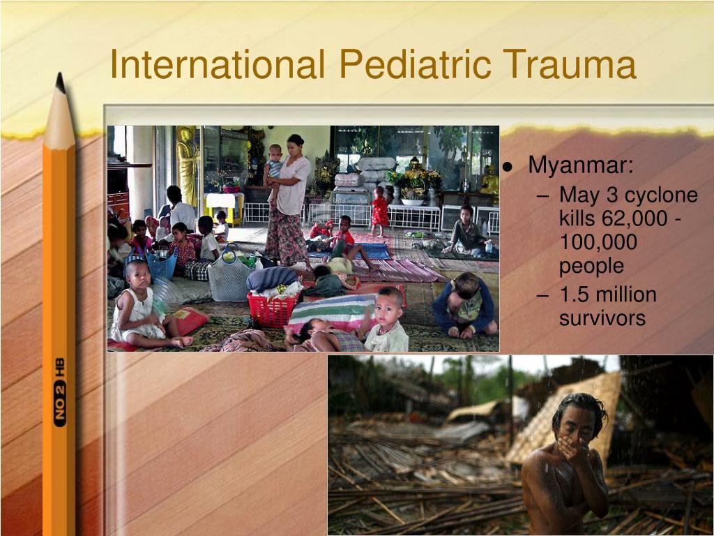 International Pediatric Trauma