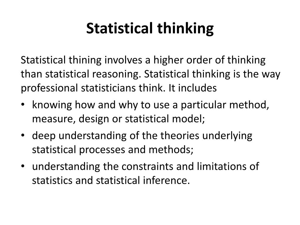 PPT - How to improve statistical literacy ? PowerPoint Presentation