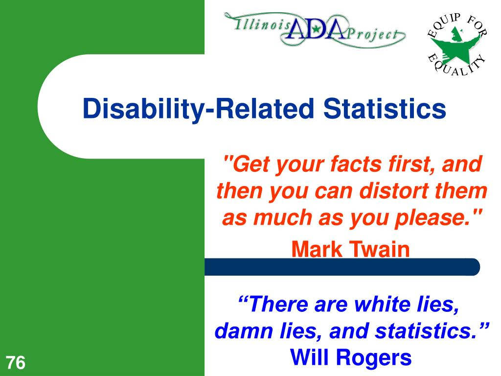 Disability-Related Statistics