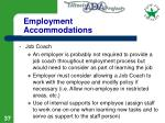 employment accommodations37