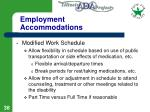 employment accommodations38