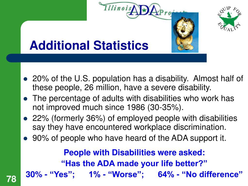 Additional Statistics