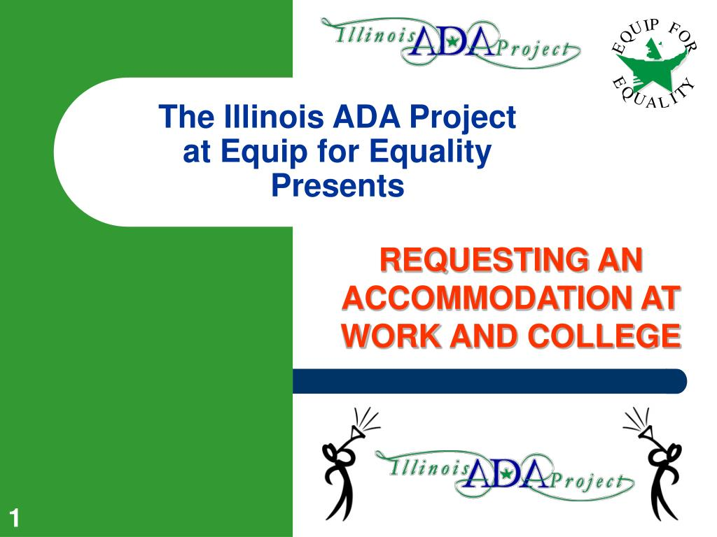 the illinois ada project at equip for equality presents l.