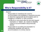 who s responsibility is it74