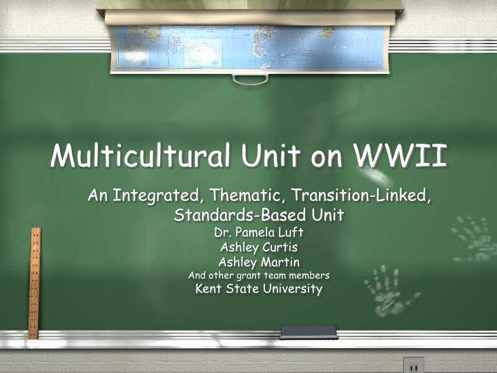 multicultural unit on wwii n.