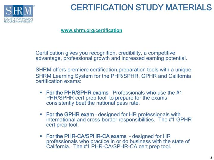 Ppt The 2013 Shrm Learning System Powerpoint Presentation Id