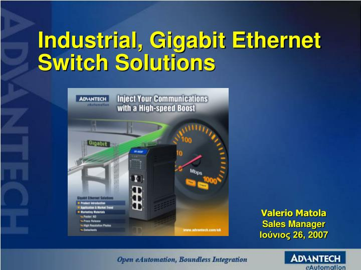 industrial gigabit ethernet switch solutions n.
