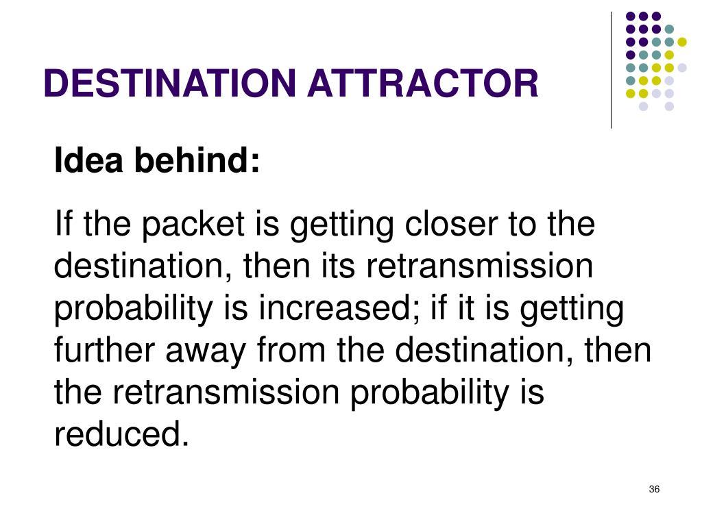 DESTINATION ATTRACTOR