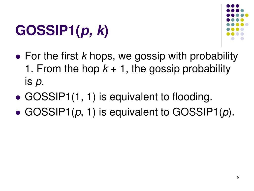 GOSSIP1(