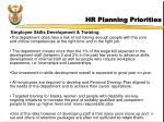 hr planning priorities19