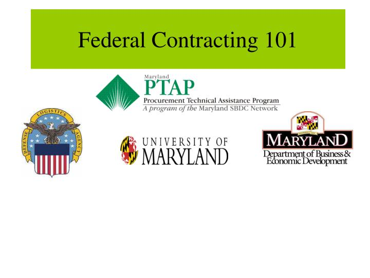 federal contracting 101 n.