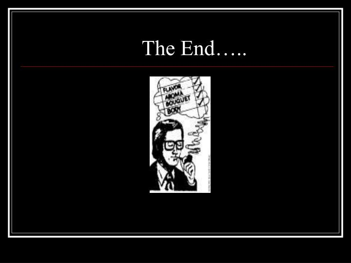 The End…..