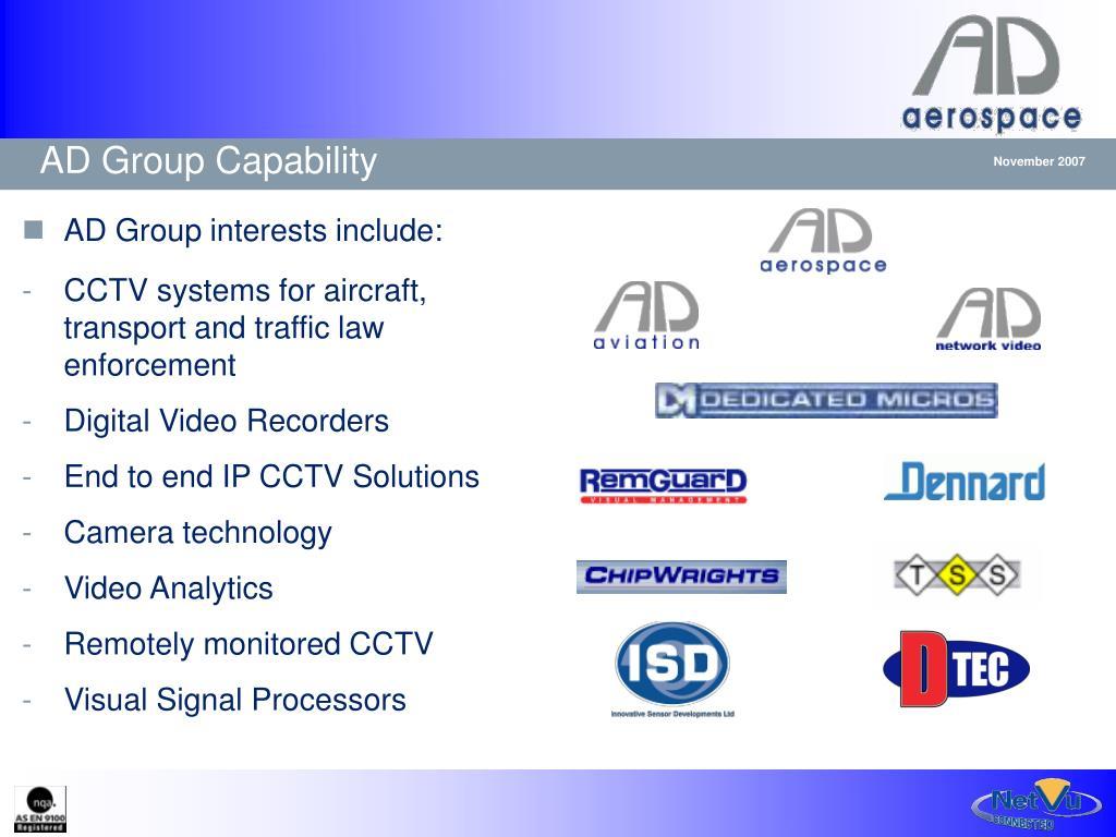 AD Group Capability
