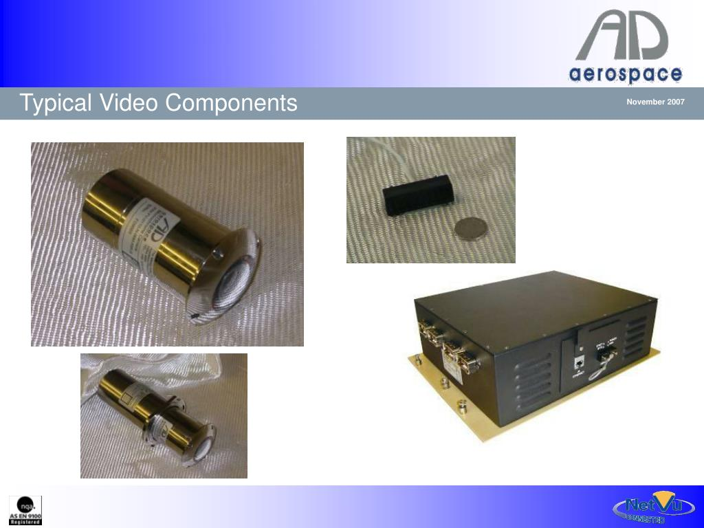 Typical Video Components