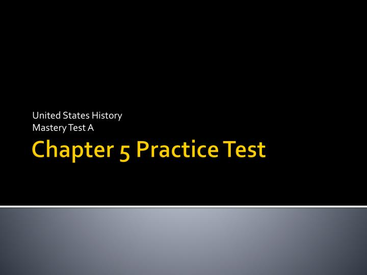 united states history mastery test a n.