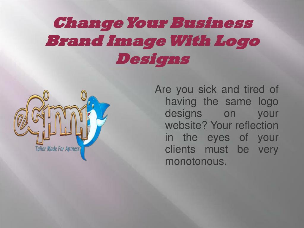 change your business brand image with logo designs l.