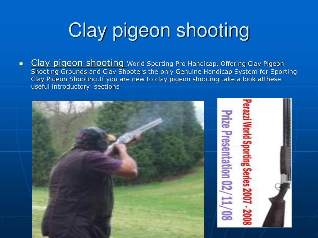clay pigeon shooting l.