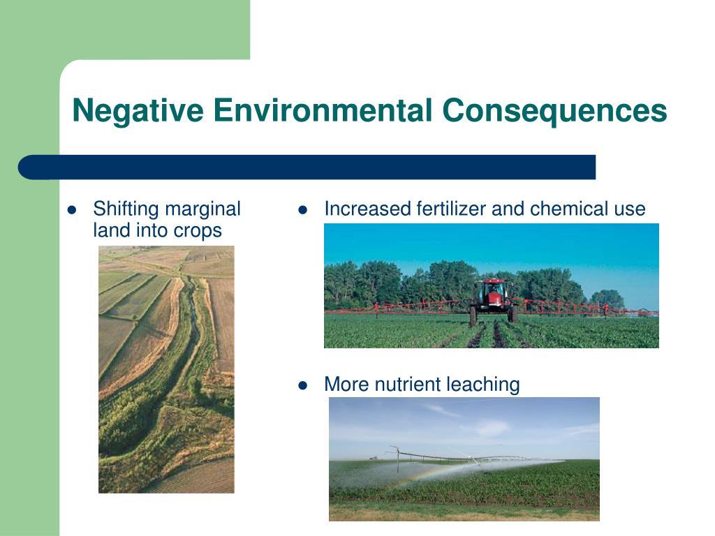 Shifting marginal land into crops