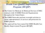 health care quality improvement program hcqip
