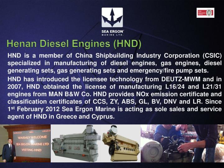 Henan Diesel Engines (HND)