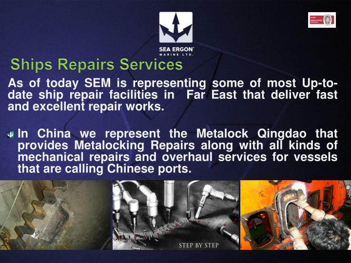Ships Repairs Services