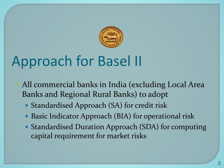 Approach for Basel II