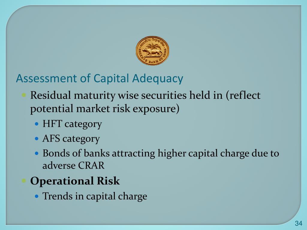 Assessment of Capital Adequacy