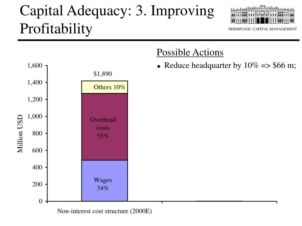 Capital Adequacy: 3. Improving Profitability
