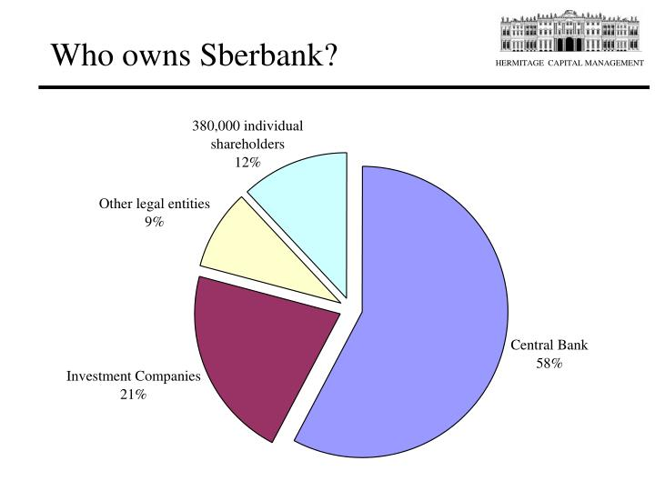 Who owns sberbank