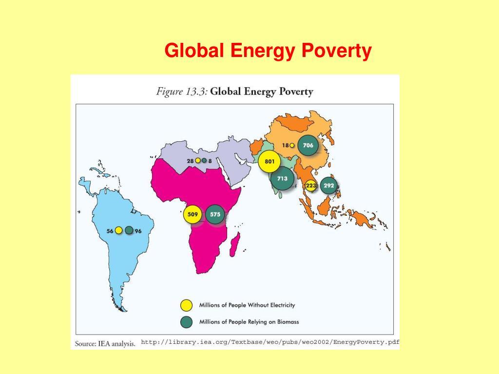 Global Energy Poverty