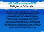 religious officials