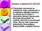 anotace k ablon eu iii 2 3 2